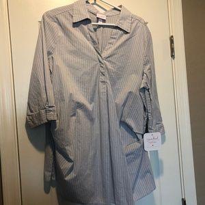 Isabel Maternity Dress Shirt XL